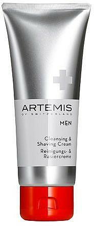 Cleansing Shaving Cream - Artemis of Switzerland Men Cleansing & Shaving Cream