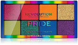 Fragrances, Perfumes, Cosmetics Eyeshadow Palette - Makeup Revolution x Pride Spirit Of Pride Shadow Palette