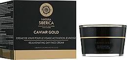 Fragrances, Perfumes, Cosmetics Rejuvenating Anti-Aging Facial Day Cream - Natura Siberica Caviar Gold