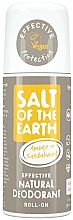 Fragrances, Perfumes, Cosmetics Natural Roll-on Deodorant - Salt of the Earth Amber & Sandalwood Natural Roll-On Deo