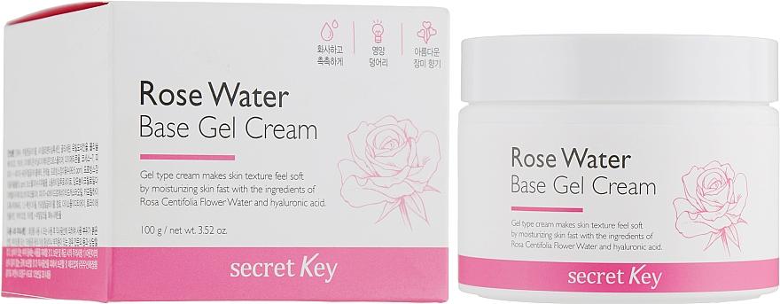 Rose Water Gel Cream - Secret Key Rose Water Base Gel Cream