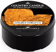 Fragrances, Perfumes, Cosmetics Tea Light Candle - Country Candle Golden Tobacco
