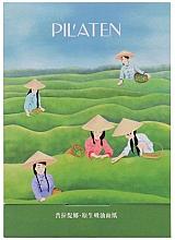 """Fragrances, Perfumes, Cosmetics Facial Blotting Paper """"Green Tea"""" - Pil'aten Green Tea Native Blotting Paper"""