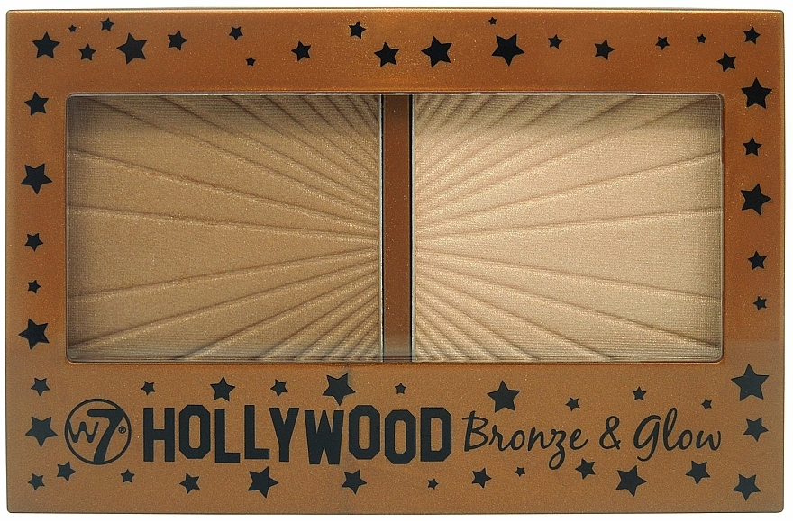 Face Bronzer - W7 Hollywood Bronze & Glow