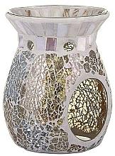 Fragrances, Perfumes, Cosmetics Aroma Lamp - Yankee Candle Wax Burner Gold & Pearl
