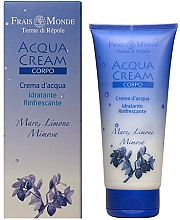 Fragrances, Perfumes, Cosmetics Body Cream - Frais Monde Acqua Cream Body Sea Lemon And Mimosa