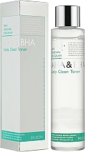 Fragrances, Perfumes, Cosmetics Face Tonic - Mizon AHA & BHA Daily Clean Toner