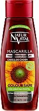 Fragrances, Perfumes, Cosmetics Hair Color Preserving Mask for Color-Treated Hair - Natur Vital Coloursafe Henna Hair Mask Mahogony Hair