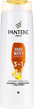 Fragrances, Perfumes, Cosmetics Hair Shampoo-Conditioner - Pantene Pro-V Hard Water Shield 5 3in1 Shampoo