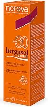 Fragrances, Perfumes, Cosmetics Sun Cream - Noreva Laboratoires Bergasol Expert Invisible Finish Cream SPF 30+