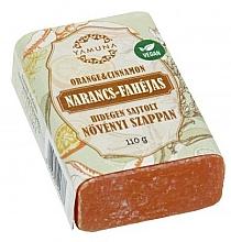 "Fragrances, Perfumes, Cosmetics Cold Pressed Soap ""Orange & Cinnamon"" - Yamuna Orange Cinnamon Cold Pressed Soap"