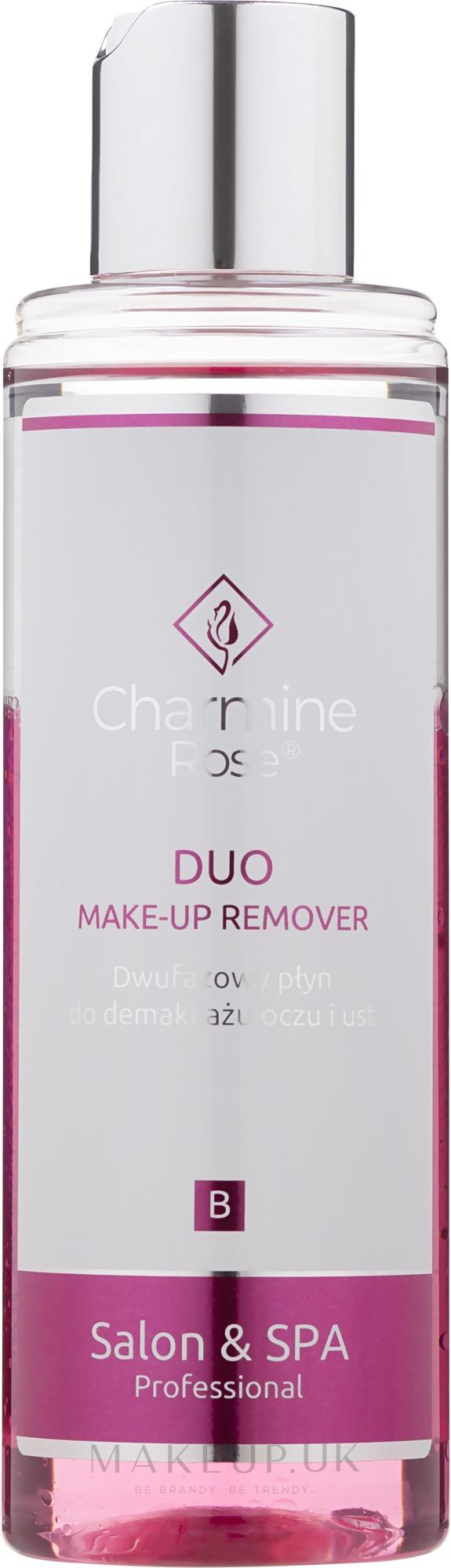 Bi-phasic Makeup Remover - Charmine Rose DUO Make-up Remover — photo 200 ml