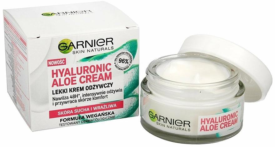 Moisturizing Hyaluronic Aloe Cream for Dry & Sensitive Skin - Garnier Skin Naturals