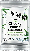 Fragrances, Perfumes, Cosmetics Wet Wipes - The Cheeky Panda Biodegradable Bamboo Handy Wipes