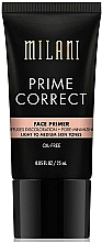 Fragrances, Perfumes, Cosmetics Correcting Primer - Milani Prime Correct Diffuses Discoloration + Pore-minimizing Face Primer Light/Medium