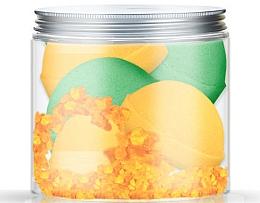 Fragrances, Perfumes, Cosmetics Bath Bomb Set - Nacomi Orange Vanilla and Green Tea Bath Bomb (bomb/4pcs)