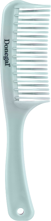 Hair Comb, 20.4 cm, 9801, turquoise - Donegal Hair Comb — photo N1