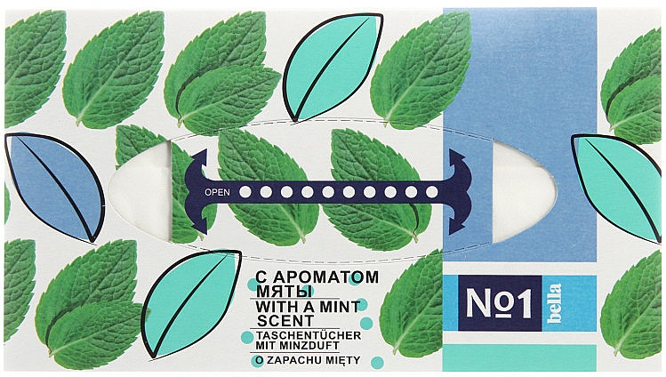 Universal Tissues with Mint Scent - Bella Mint Wipes
