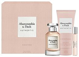 Fragrances, Perfumes, Cosmetics Abercrombie & Fitch Authentic - Set (edp/100ml + b/lot/200ml + edp/15ml)
