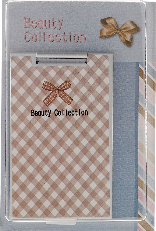 Cosmetic Mirror 85574, large plaid - Top Choice Beauty Collection Mirror