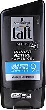 Fragrances, Perfumes, Cosmetics Hair Styling Gel - Schwarzkopf Taft Looks Power Active Gel