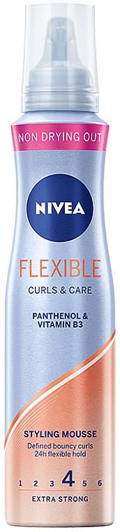 """Hair Mousse """"Flexible Curls"""" - Nivea Flexible Curls & Care"""