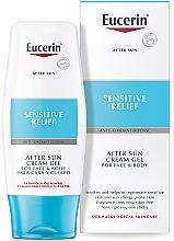 Fragrances, Perfumes, Cosmetics After Tan Cream-Gel - Eucerin After Sun Creme-Gel for Sensitive Relief
