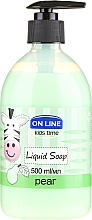 "Fragrances, Perfumes, Cosmetics Liquid Soap ""Pear"" - On Line Kids Time Liquid Soap Pear"