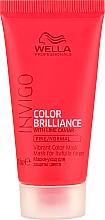 Fragrances, Perfumes, Cosmetics Color-Treated, Normal & Thin Hair Mask with Lime Caviar - Wella Professionals Invigo Color Brilliance Vibrant Color Mask