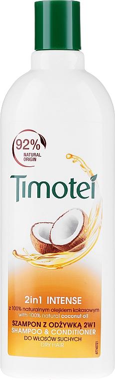 """Shampoo-Conditioner """"Jericho Rose & Coconut Oil"""" - Timotei Jericho Rose Shampoo & Conditioner"""