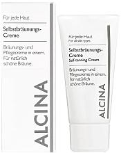 Fragrances, Perfumes, Cosmetics Self-Tanning Cream - Alcina B Self-Tanning Cream