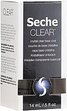 Fragrances, Perfumes, Cosmetics Transparent Base Coat - Seche Vite Clear Crystal Base Coat