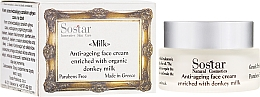 Fragrances, Perfumes, Cosmetics Anti-Aging Face Cream - Sostar Anti-ageing Face Cream Enriched With Donkey Milk