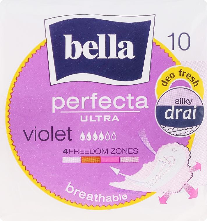 Pantiliners Perfecta Violet Deo Fresh Soft Ultra, 10 pcs - Bella