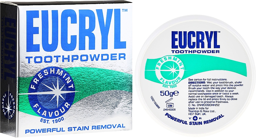 Toothpowder - Eucryl Toothpowder Freshmint