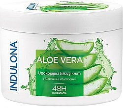 Fragrances, Perfumes, Cosmetics Aloe Vera Soothing Body Cream - Indulona Aloe Vera Soothing Body Cream