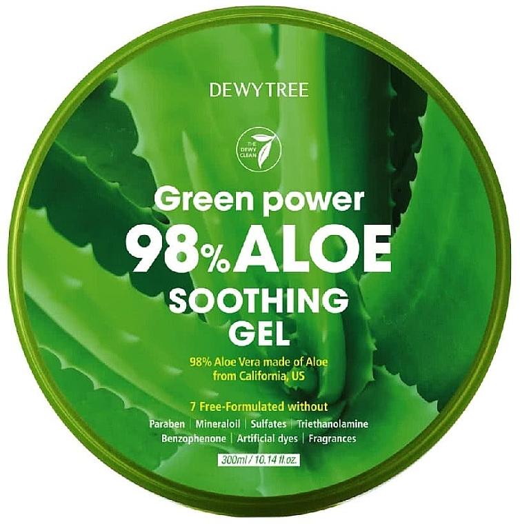 Aloe Soothing Gel - Dewytree Green Power Aloe Soothing Gel