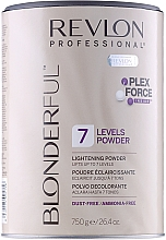 Fragrances, Perfumes, Cosmetics 7 Levels Lightening Powder - Revlon Professional Blonderful 7 Levels Lightening Powder