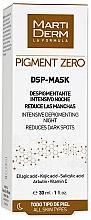 Fragrances, Perfumes, Cosmetics Depigmenting Face Mask - MartiDerm Pigment Zero DSP-Mask Intensive Depigmenting Night
