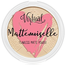 Fragrances, Perfumes, Cosmetics Mattifying Face Powder - Virtual Mattemoiselle Flawless Matte Powder