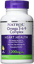 Fragrances, Perfumes, Cosmetics Fatty Acid Omega 3-6-9 - Natrol Omega 3-6-9 Complex