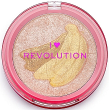 Fragrances, Perfumes, Cosmetics Highlighter - I Heart Revolution Fruity Highlighter Banana
