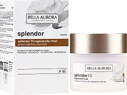 Fragrances, Perfumes, Cosmetics Regenerating Night Face Cream - Bella Aurora Splendor 10 Total Regeneration Night Cream