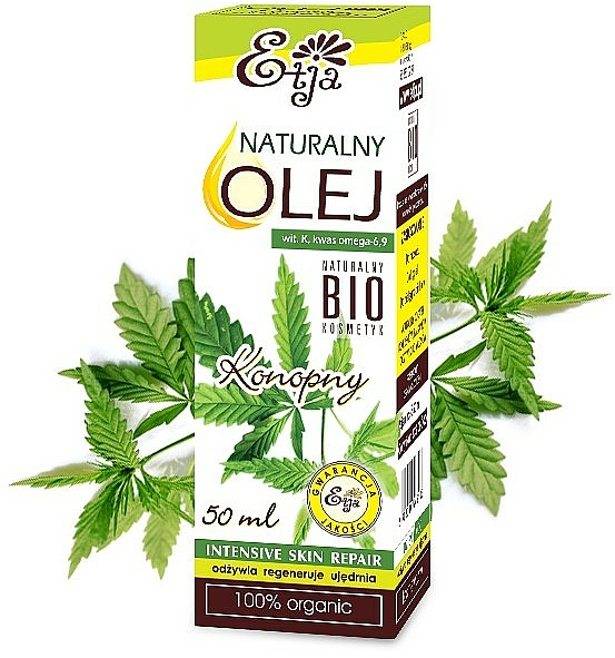 Natural Hemp Seed Oil - Etja Natural Oil