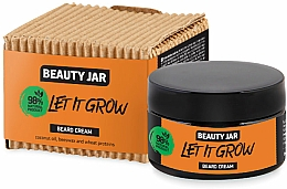 Fragrances, Perfumes, Cosmetics Beard Cream - Beauty Jar Let It Grow Beard Cream