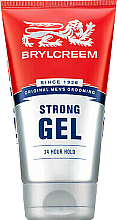 Fragrances, Perfumes, Cosmetics Strong Hold Hair Gel - Brylcreem Strong 24 Hour Hold Gel