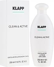Fragrances, Perfumes, Cosmetics Dry Skin Exfoliator - Klapp Clean & Active Exfoliator Dry Skin
