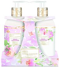 Fragrances, Perfumes, Cosmetics Set - Baylis & Harding Royal Bouquet Rose & Honeysuckle (b/lot/300ml + soap/300ml)