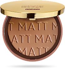 Fragrances, Perfumes, Cosmetics Bronzing Powder - Pupa Extreme Bronze Matt