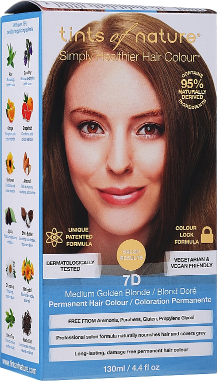 Natural Hair COlor - Tints Of Nature Permanent Colour